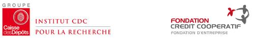 Logo de l'Institut CDC pour la recherche et de la Fondation Crédit Coopératif